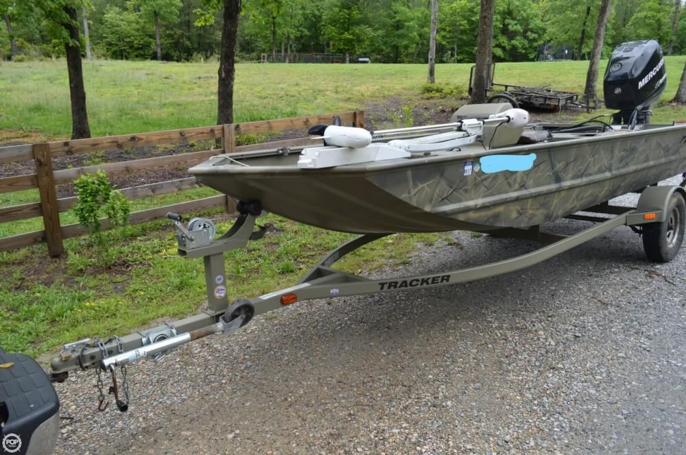 2014 Tracker Boats boat for sale, model of the boat is 1754 Grizzly & Image # 5 of 39