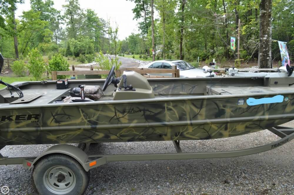 2014 Tracker Boats boat for sale, model of the boat is 1754 Grizzly & Image # 7 of 39