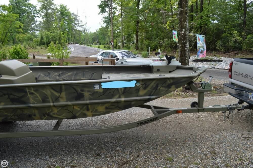 2014 Tracker Boats boat for sale, model of the boat is 1754 Grizzly & Image # 10 of 39