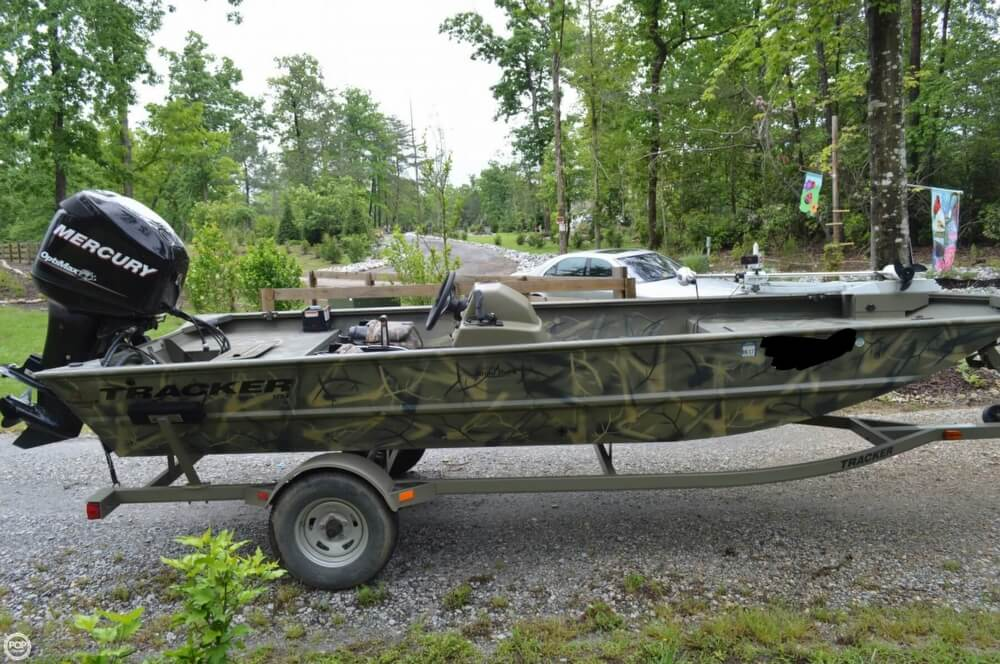 2014 Tracker Boats boat for sale, model of the boat is 1754 Grizzly & Image # 9 of 39