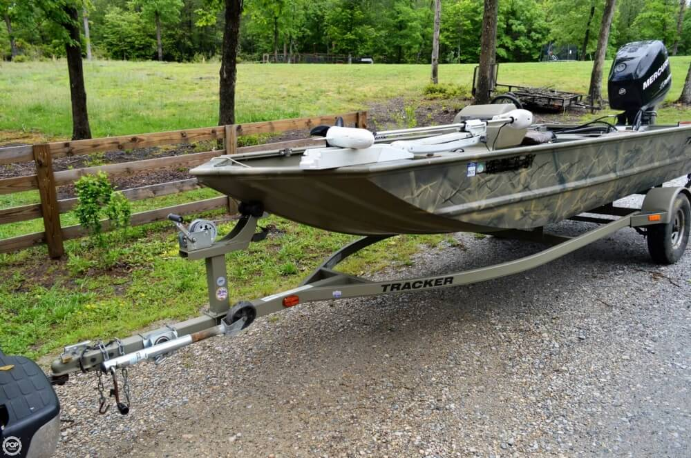 2014 Tracker Boats boat for sale, model of the boat is 1754 Grizzly & Image # 14 of 39