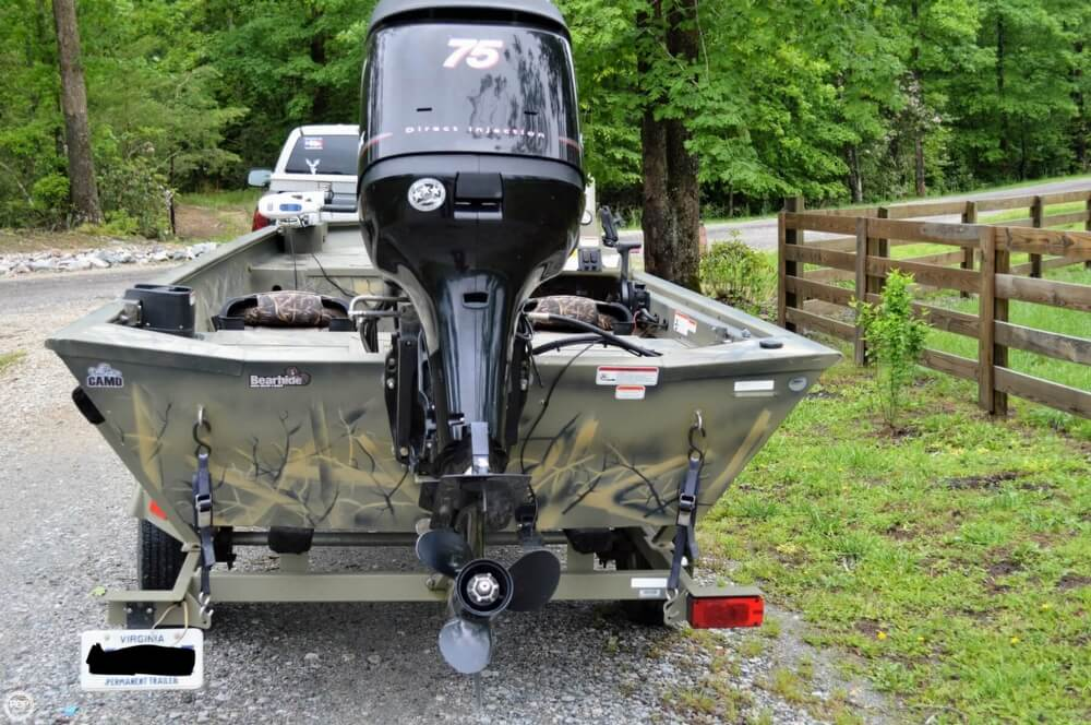 2014 Tracker Boats boat for sale, model of the boat is 1754 Grizzly & Image # 18 of 39