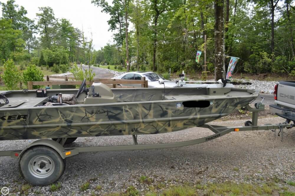 2014 Tracker Boats boat for sale, model of the boat is 1754 Grizzly & Image # 20 of 39