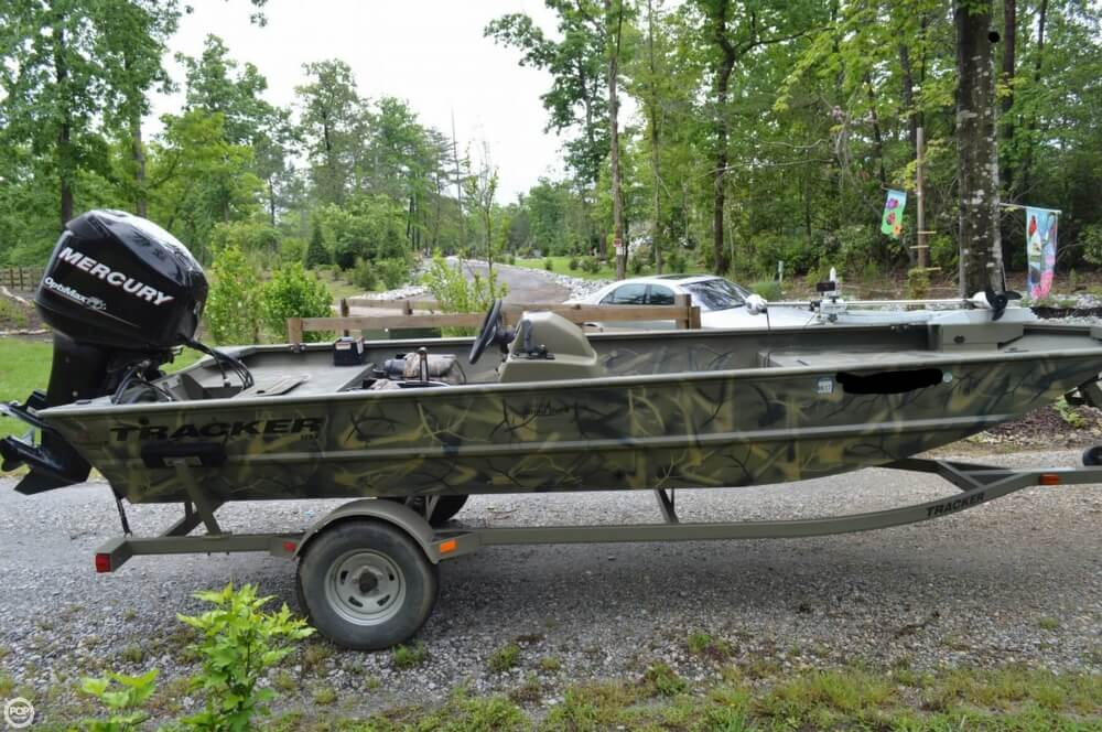 2014 Tracker Boats boat for sale, model of the boat is 1754 Grizzly & Image # 22 of 39