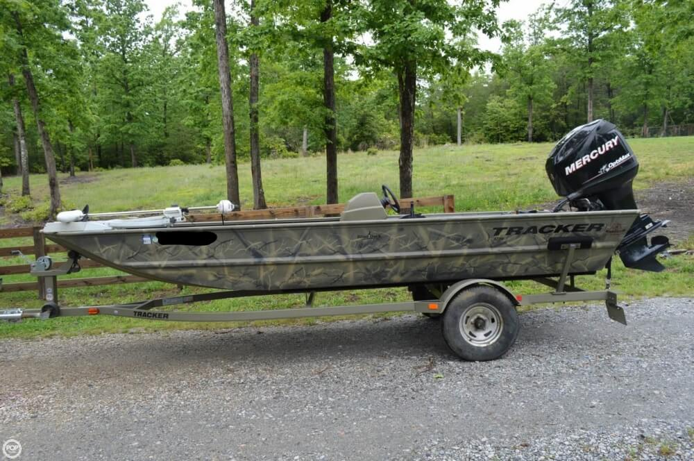 2014 Tracker Boats boat for sale, model of the boat is 1754 Grizzly & Image # 24 of 39