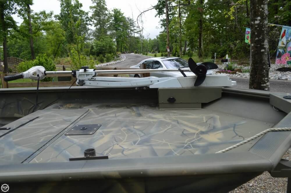 2014 Tracker Boats boat for sale, model of the boat is 1754 Grizzly & Image # 26 of 39