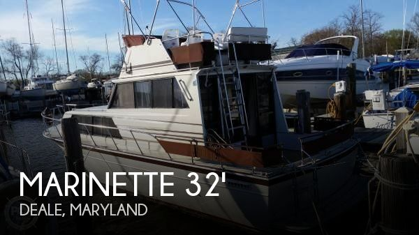 Used Fishing boats For Sale in Maryland by owner | 1988 Marinette 32