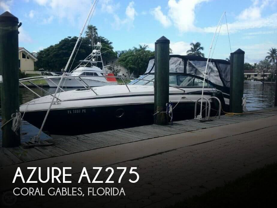 Used Azure Boats For Sale by owner | 2011 Azure 28