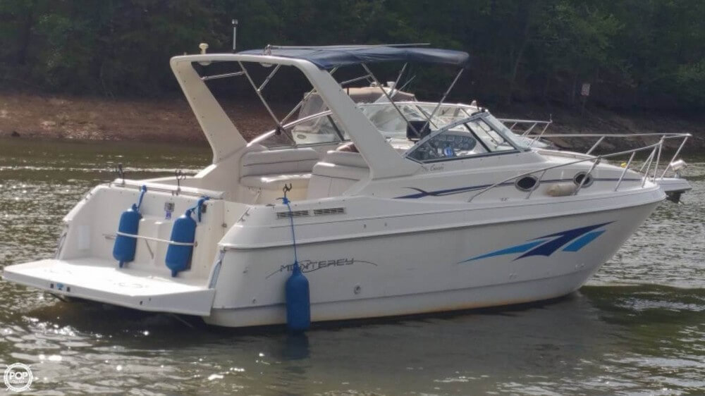 sold monterey cruiser 296 boat in flowery branch ga 127467 rh popyachts com Boat Wiring Diagrams Schematics Boat Ignition Switch Wiring Diagram