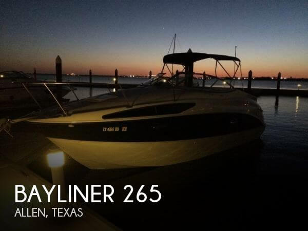 Used Bayliner Boats For Sale in Texas by owner   2005 Bayliner 26
