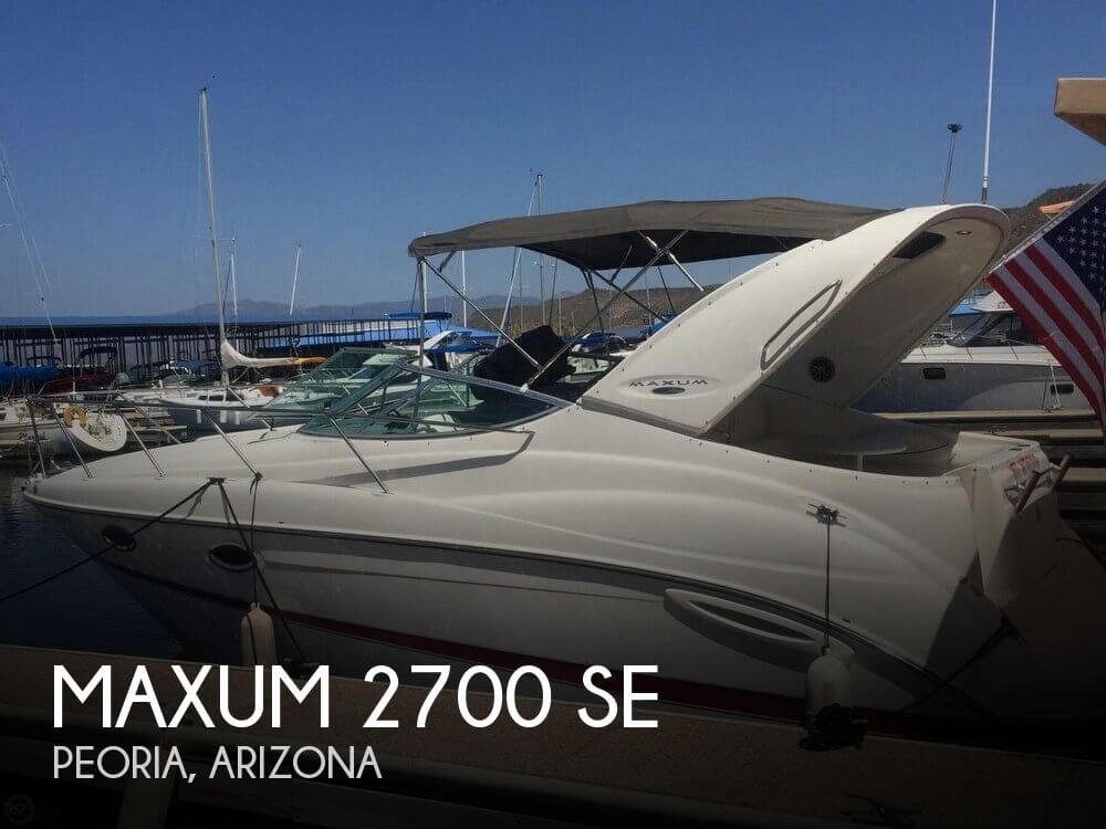 Used Boats For Sale by owner | 2004 Maxum 28