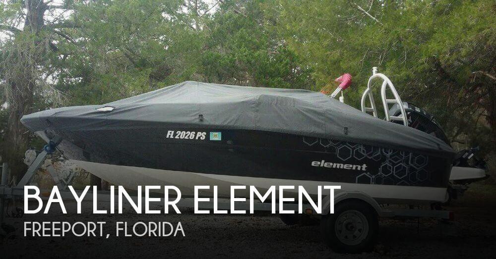 Used Bayliner Deck Boats For Sale by owner   2014 16 foot Bayliner Element