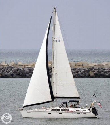 Hunter 42 Passage, 42', for sale - $110,000