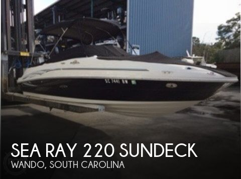 Used Sea Ray 22 Boats For Sale by owner | 2006 Sea Ray 220 Sundeck