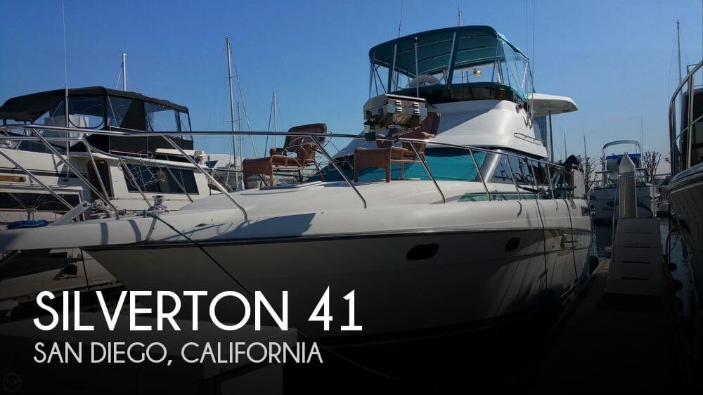 Used Boats For Sale in San Diego, California by owner | 1992 Silverton 41