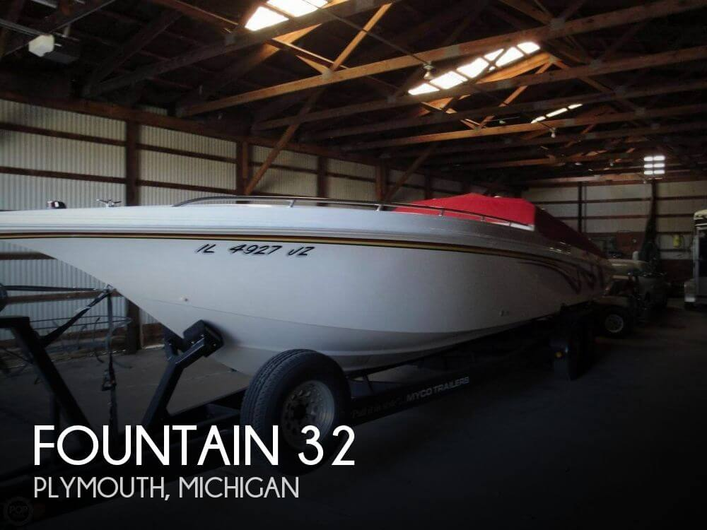 Used Boats For Sale in Lansing, Michigan by owner | 2000 Fountain 32