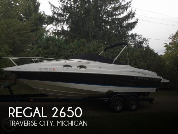 Used Regal Boats For Sale in Michigan by owner | 2006 Regal 26