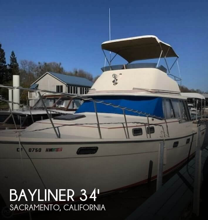 Used Bayliner Boats For Sale in California by owner | 1982 Bayliner 34