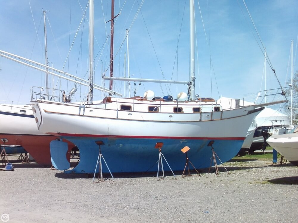 1982 Island Trader boat for sale, model of the boat is 38 Ketch & Image # 7 of 40