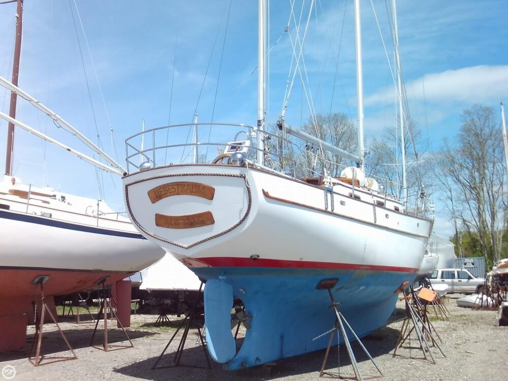 1982 Island Trader boat for sale, model of the boat is 38 Ketch & Image # 26 of 40