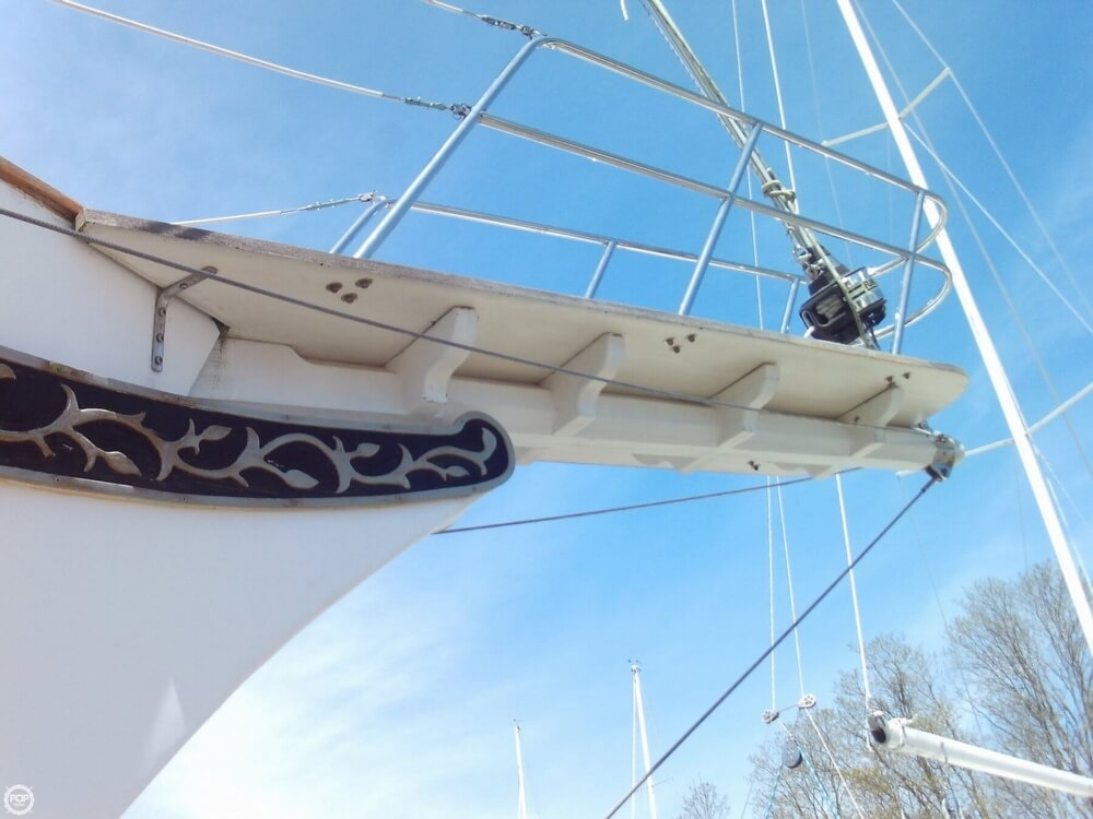 1982 Island Trader boat for sale, model of the boat is 38 Ketch & Image # 40 of 40