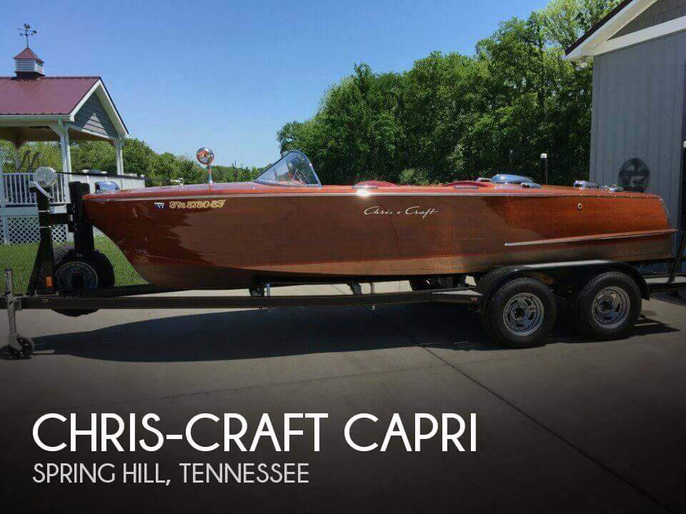 Used Boats For Sale in Nashville, Tennessee by owner | 1957 Chris-Craft 19