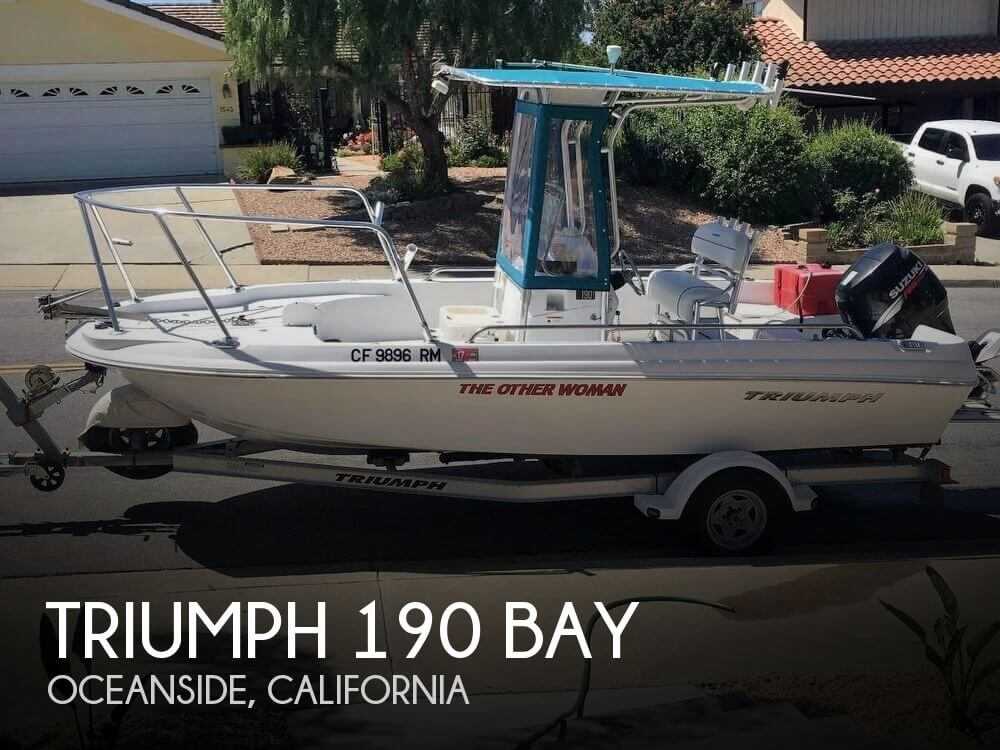 Used Boats For Sale by owner   2008 Triumph 19