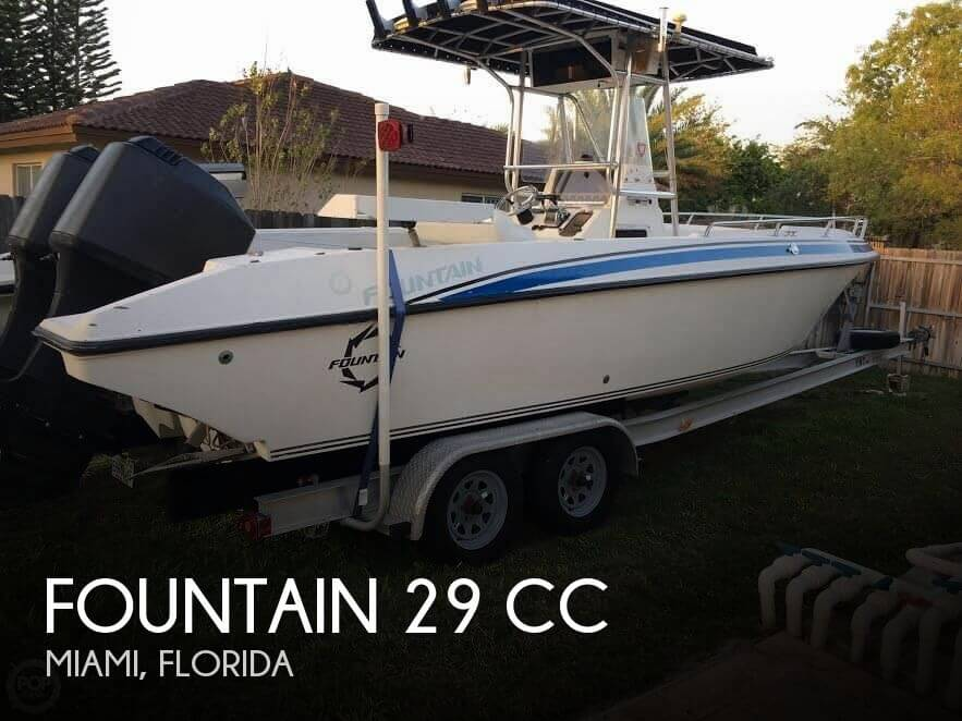 For Sale Used 1998 Fountain 29 In Miami Florida Boats