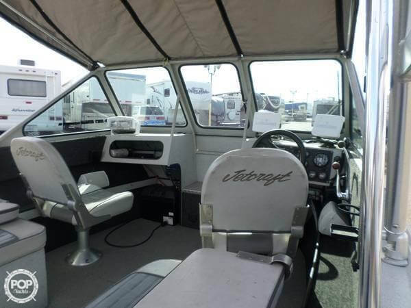 2001 Jetcraft boat for sale, model of the boat is Fastwater 1975 & Image # 5 of 40