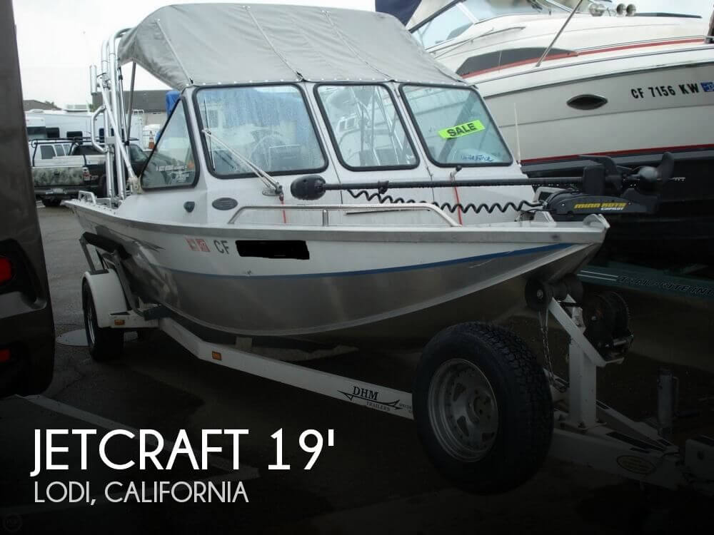 2001 Jetcraft boat for sale, model of the boat is Fastwater 1975 & Image # 1 of 40