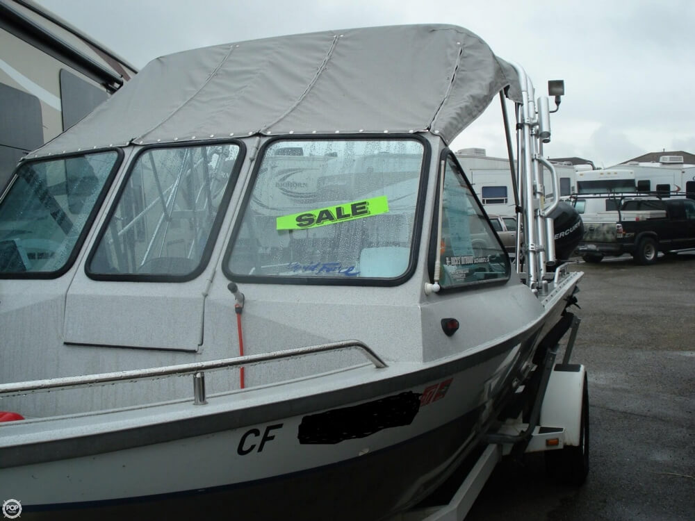 2001 Jetcraft boat for sale, model of the boat is Fastwater 1975 & Image # 20 of 40