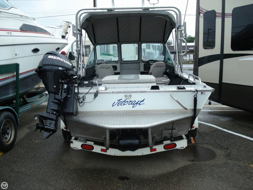 2001 Jetcraft boat for sale, model of the boat is Fastwater 1975 & Image # 35 of 40
