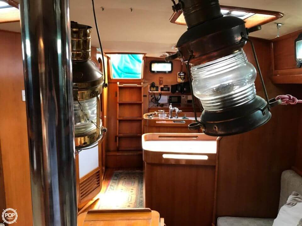 1984 Cheoy Lee boat for sale, model of the boat is 41 & Image # 3 of 40