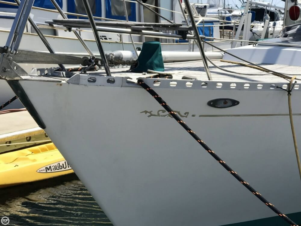 1984 Cheoy Lee boat for sale, model of the boat is 41 & Image # 7 of 40