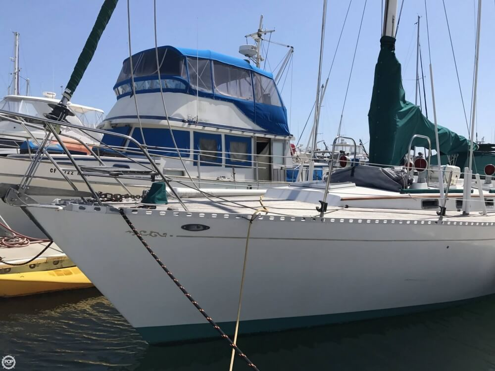 1984 Cheoy Lee boat for sale, model of the boat is 41 & Image # 9 of 40