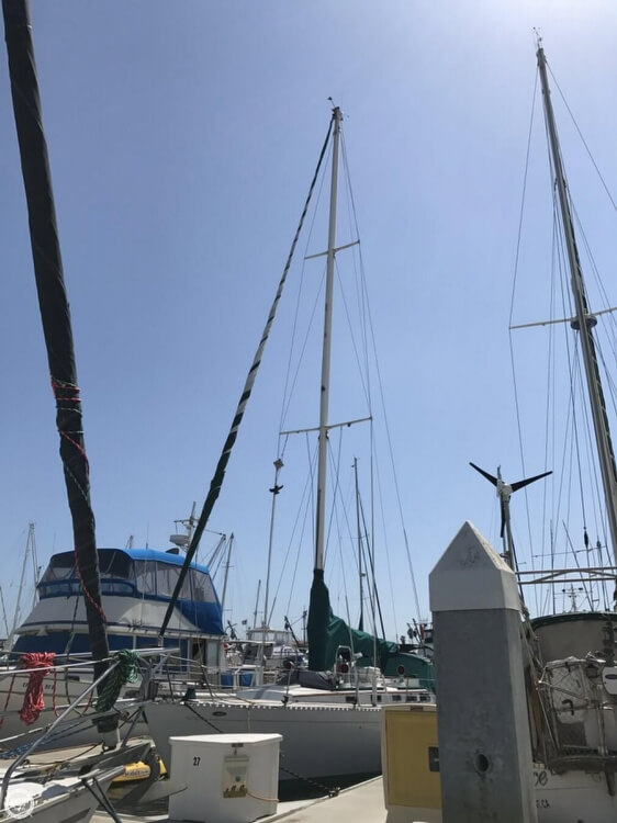 1984 Cheoy Lee boat for sale, model of the boat is 41 & Image # 20 of 40