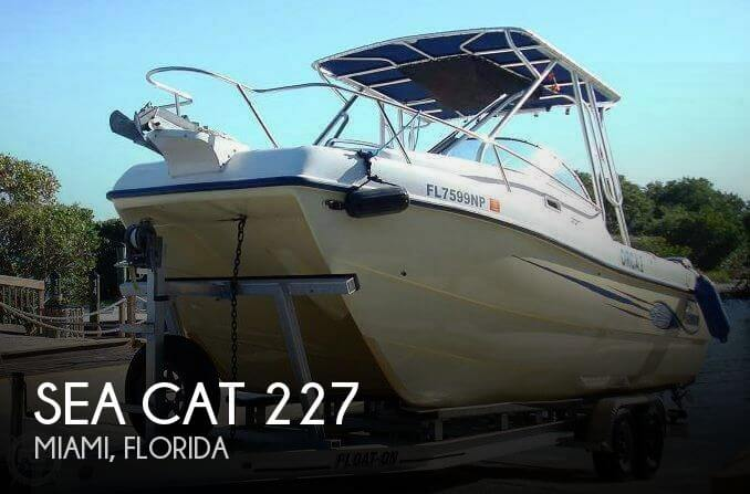 Used Ski Boats For Sale in Florida by owner | 2008 Sea Cat 22