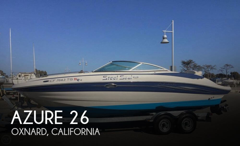 Used Deck Boats For Sale in California by owner | 2006 Azure 26