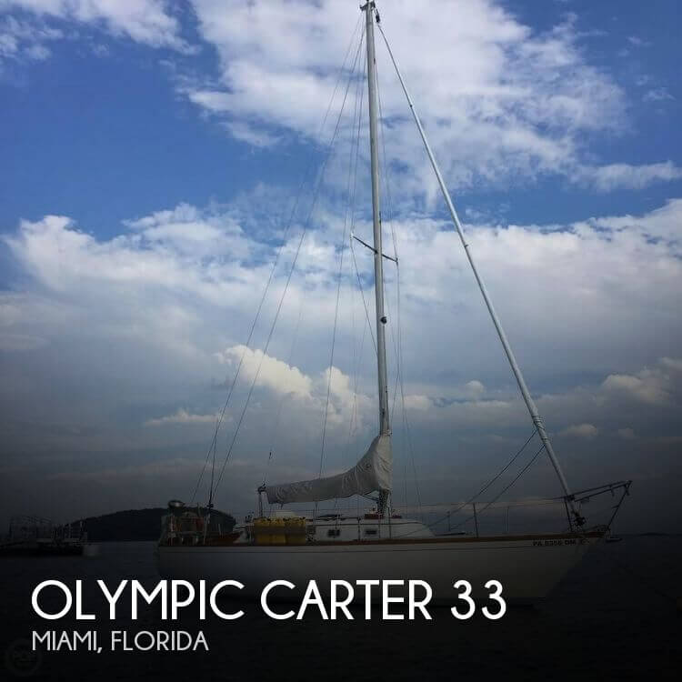 Used Olympic Boats For Sale by owner   1973 Olympic 32