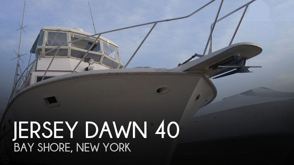 Used Jersey Boats For Sale by owner   1982 Jersey 40