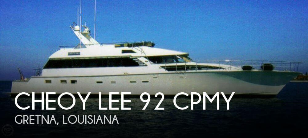 Used Motoryachts For Sale by owner | 1988 Cheoy Lee 92