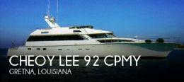 1988 Cheoy Lee 92 CPMY