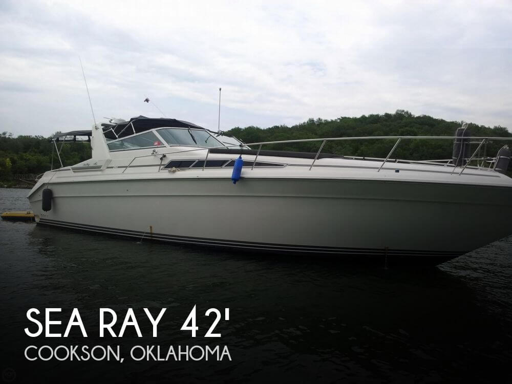 Used Boats For Sale in Tulsa, Oklahoma by owner | 1991 Sea Ray 42