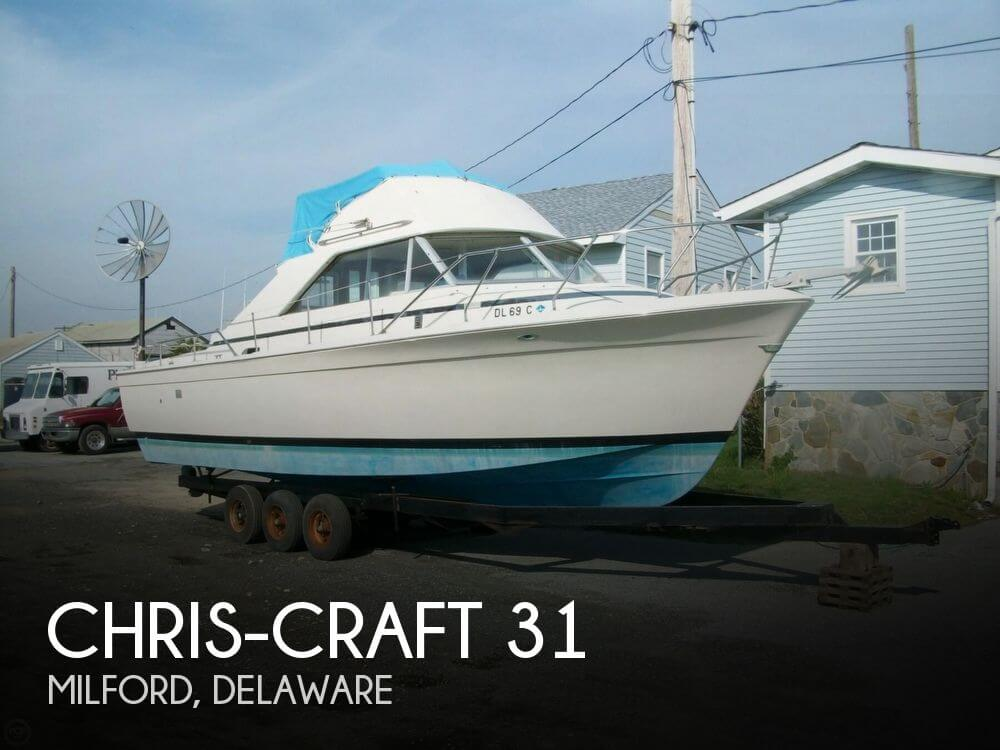 Used Boats For Sale by owner | 1969 Chris-Craft 31