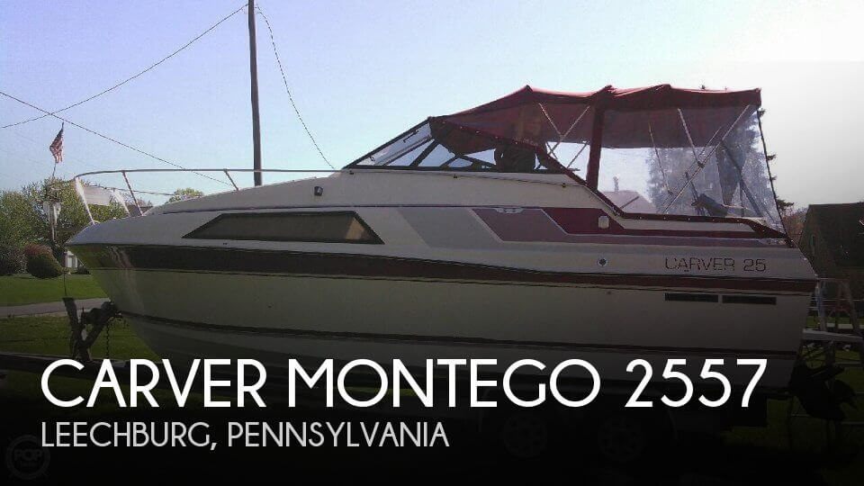 Used Carver Boats For Sale in Pennsylvania by owner | 1988 Carver 26