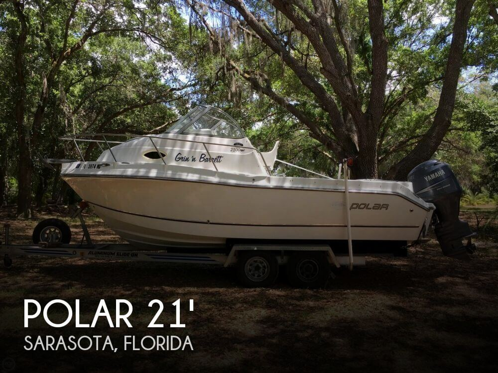Used Polar Boats For Sale by owner   2005 Polar 2100 Walkaround