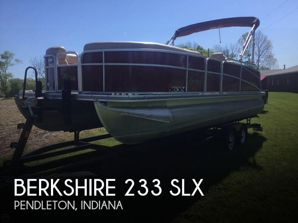 2013 BERKSHIRE PONTOONS 233 SLX for sale