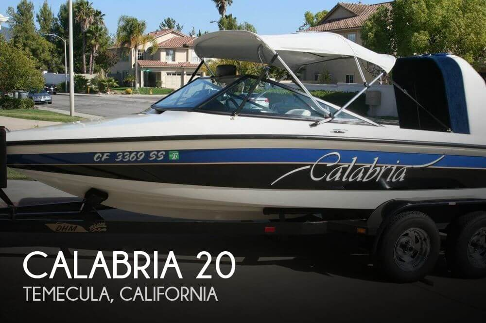 Used Calabria Boats For Sale by owner | 1997 Calabria 20