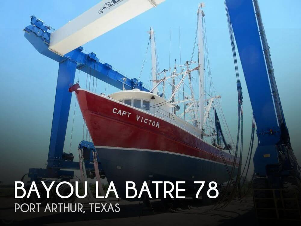 Used Boats For Sale in Texas by owner | 1980 Bayou La Batre 78