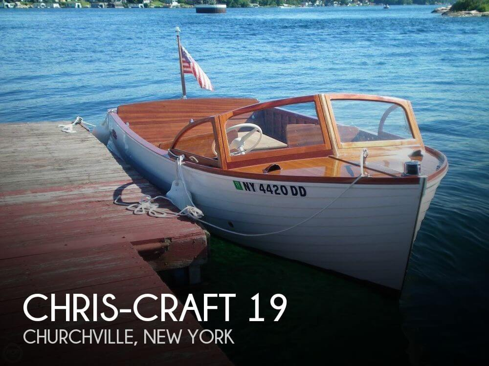 Used Chris-Craft Boats For Sale in New York by owner | 1959 Chris-Craft 19